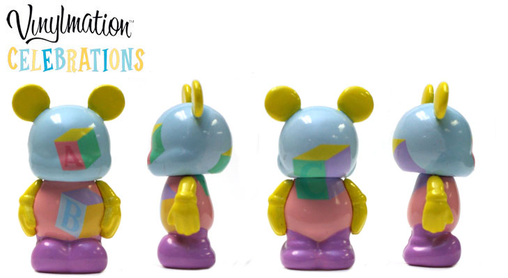 Vinylmation Open And Misc Celebrations Jr ABC Blocks