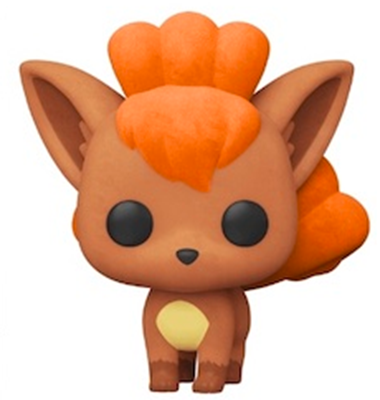 Funko Pop! Games Vulpix (Flocked)