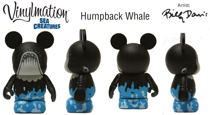 Vinylmation Open And Misc Sea Creatures Humpback Whale