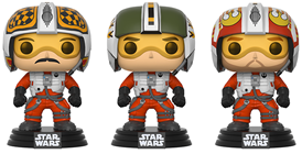 Funko Pop! Star Wars Wedge, Biggs, Porkins
