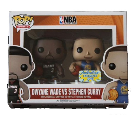 Funko Pop! Sports Dwyane Wade vs Stephen Curry Stock