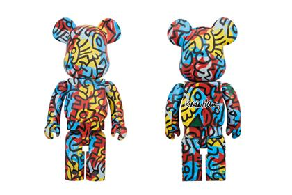 Be@rbrick Misc Keith Haring Designercon 1000% Stock