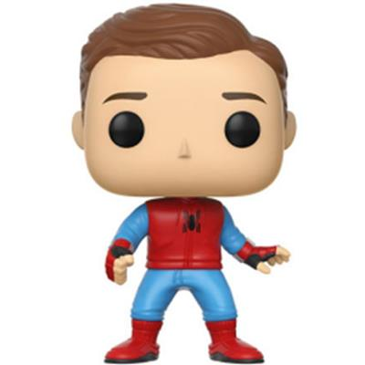 Funko Pop! Marvel Spider-Man (Unmasked) (Homemade Suit)