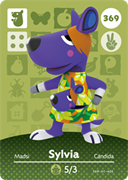 Amiibo Cards Animal Crossing Series 4 Sylvia
