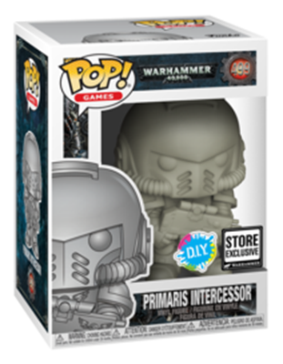 Funko Pop! Games Primaris Intercessor (DIY) Stock