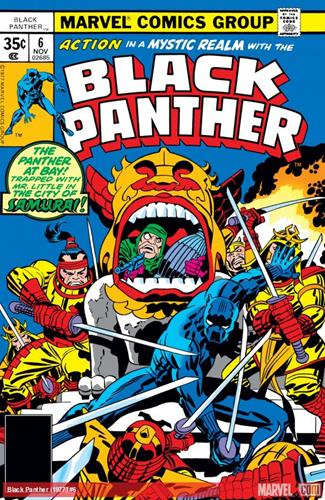 Marvel Comics Black Panther (1977 - 1979) Black Panther (1977) #6 Icon