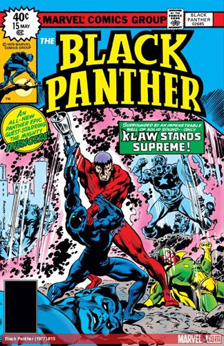 Marvel Comics Black Panther (1977 - 1979) Black Panther (1977) #15