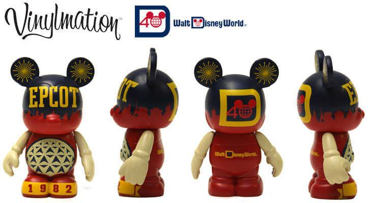 Vinylmation Open And Misc Disney World 40th Anniversary Epcot