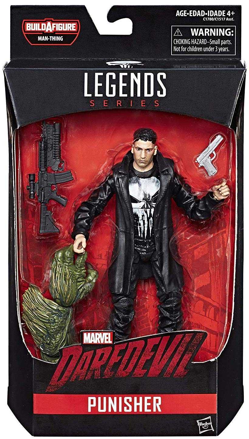 Marvel Legends Man-Thing Series Punisher Icon