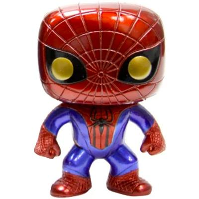 Funko Pop! Marvel Spider-Man (The Amazing Spider-Man) (Metallic)