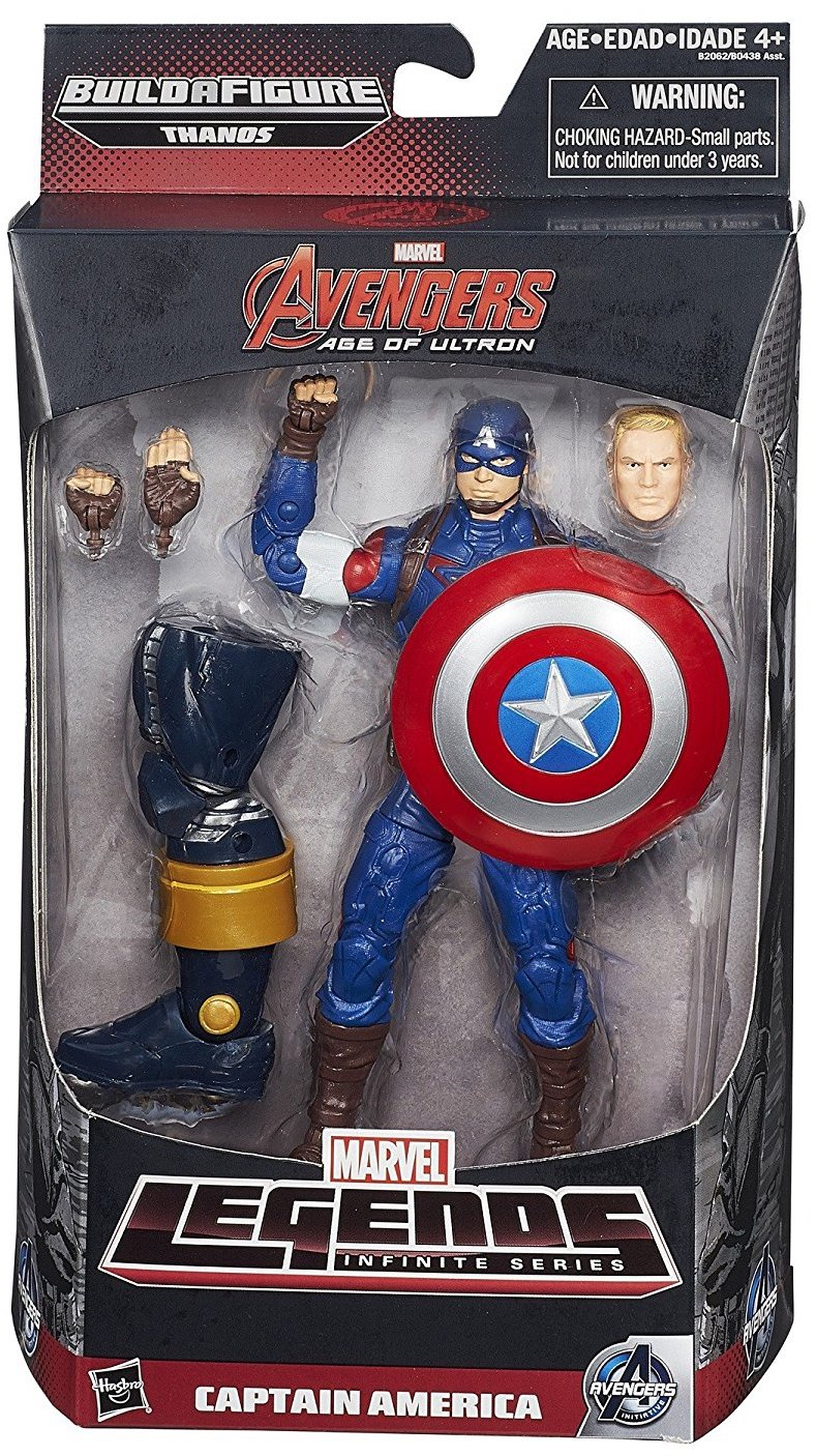 Marvel Legends Thanos Series Captain America