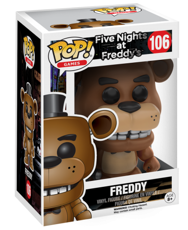 Funko Pop! Games Freddy Stock