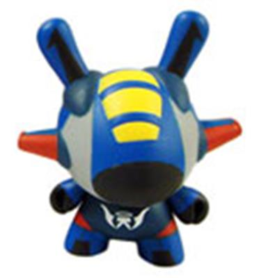 Kid Robot Special Edition Dunny Flight (Blue)
