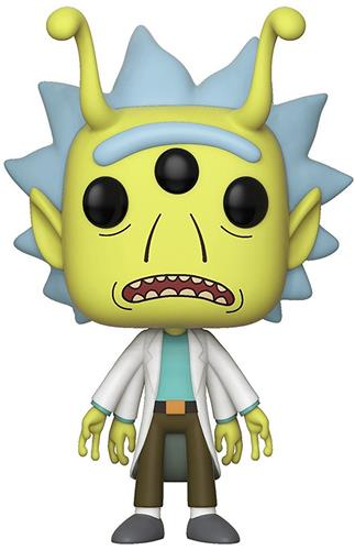 Funko Pop! Animation Rick (Alien) Icon