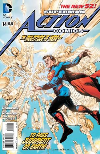 DC Comics Action Comics (2011 - 2016) Action Comics (2011) #14 Icon