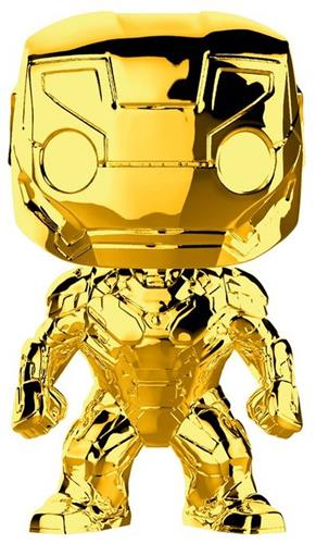 Funko Pop! Marvel Iron Man (Gold Chrome)