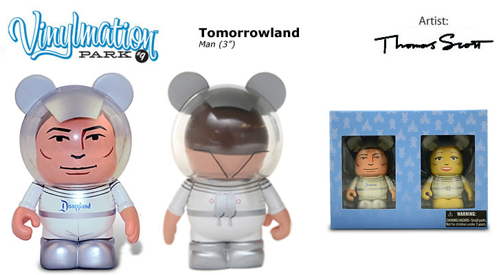 Vinylmation Open And Misc Park 9 Man