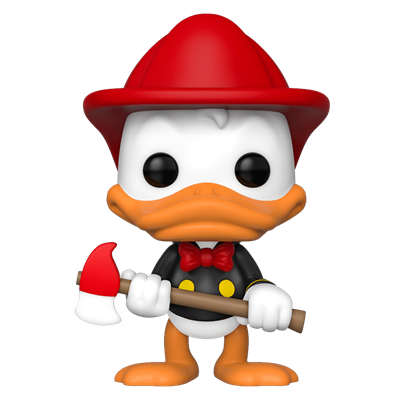 Funko Pop! Disney Donald Duck (Firefighter)