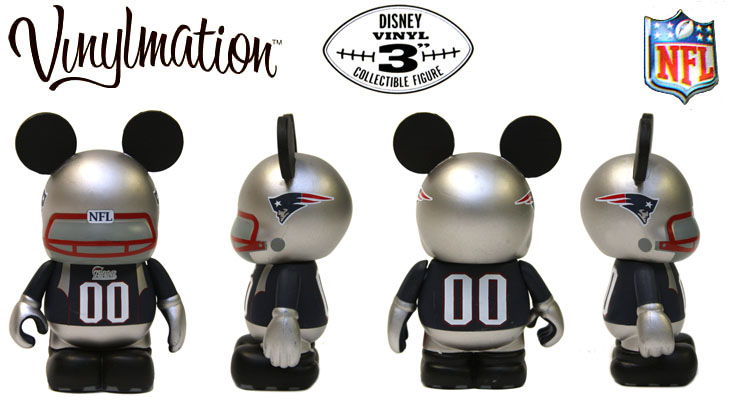 Vinylmation Open And Misc NFL New England Patriots