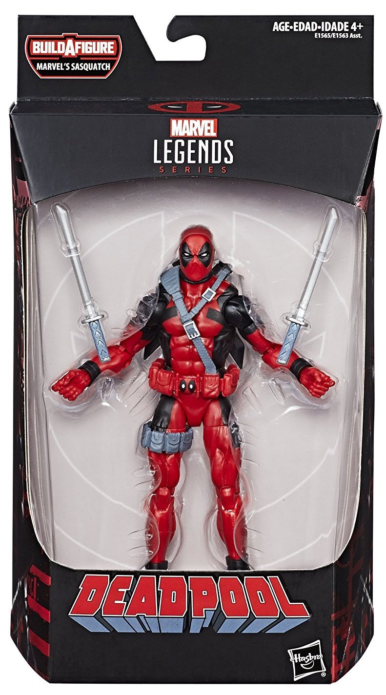 Marvel Legends Sasquatch Series Deadpool