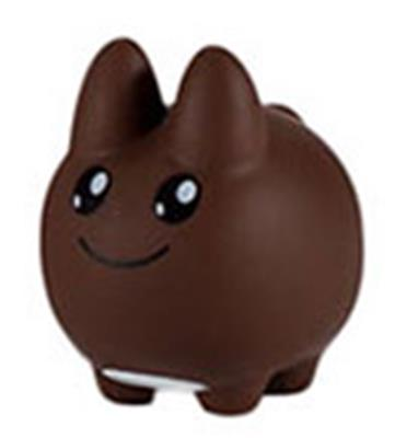 Kid Robot Labbit Packs Labbit & Littons: Brown Icon
