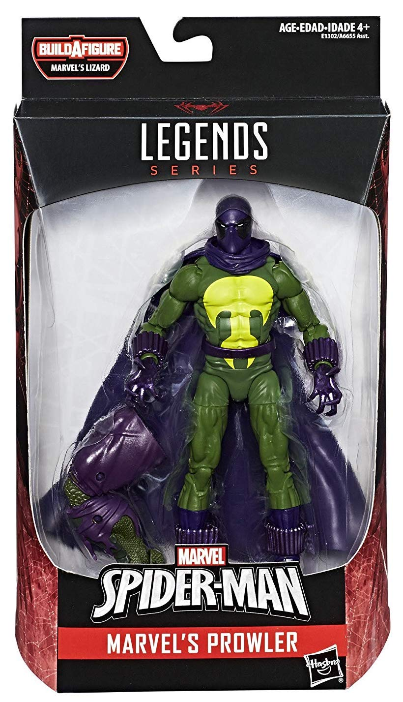 Marvel Legends Lizard Series Prowler