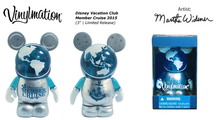 Vinylmation Open And Misc Disney Vacation Club Member Cruise 2015