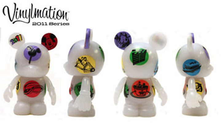 Vinylmation Open And Misc 2011 Edition White Logos 2011