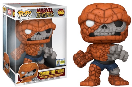 "Funko Pop! Marvel Zombie The Thing (10"")"