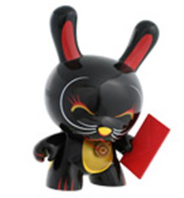 "Kid Robot 8"" Dunnys Lucky Cat"