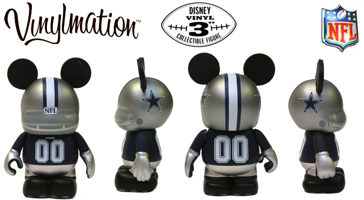 Vinylmation Open And Misc NFL Dallas Cowboys