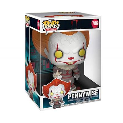 "Funko Pop! Movies Pennywise 10"" Stock"