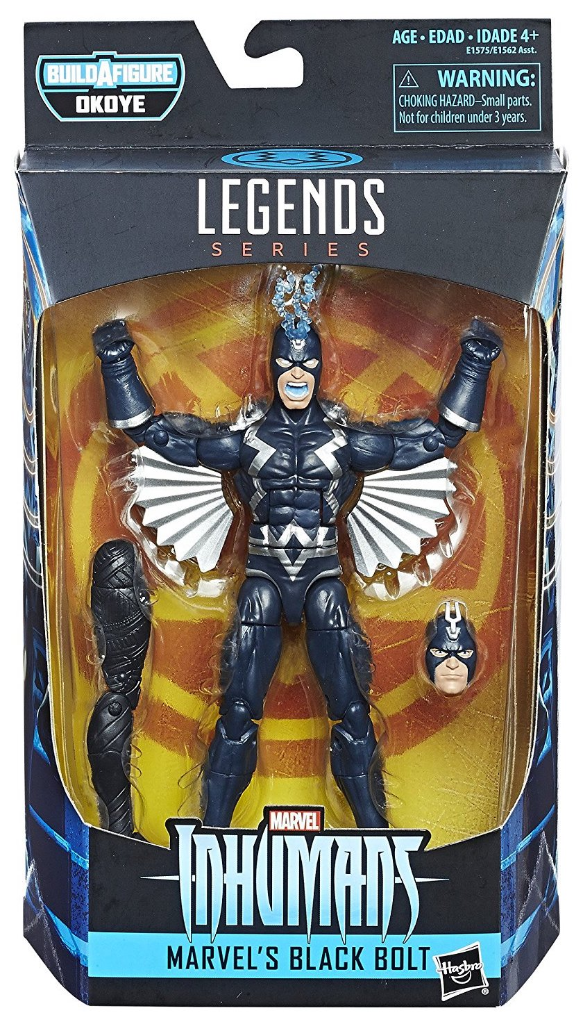 Marvel Legends Okoye Black Bolt