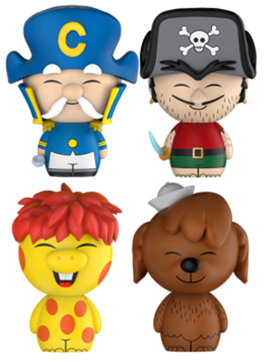 Dorbz Ad Icons Cap'n Crunch & Friends (4-Pack)