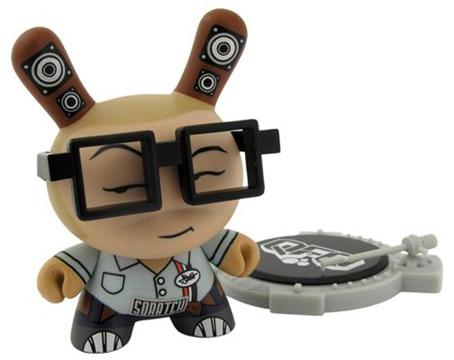 Kid Robot Special Edition Dunny Blue QBert Icon