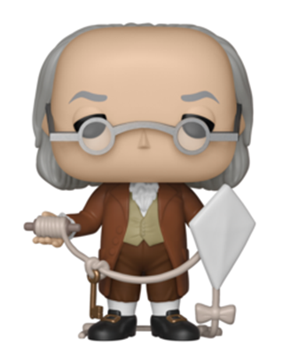 Funko Pop! Icons Benjamin Franklin