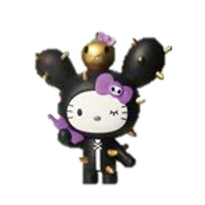 Tokidoki Hello Kitty 7-Eleven Black Cactus Kitty (Chase) Icon