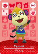 Amiibo Cards Animal Crossing Series 3 Tammi