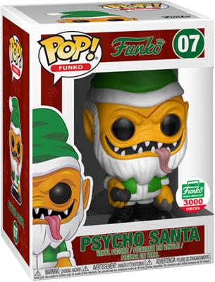 Funko Pop! Funko Psycho Santa (Green Suit) Stock Thumb