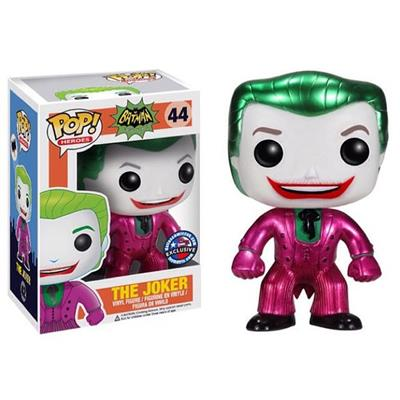 Funko Pop! Heroes The Joker (Classic 1966 TV) (Metallic) Stock