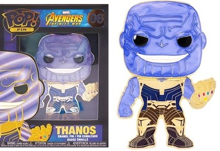 Funko Pop! Pins Thanos Pin
