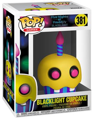 Funko Pop! Games Cupcake (Blacklight) Stock