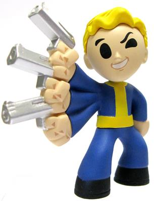 Mystery Minis Fallout Wired Reflexes Icon