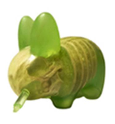 Kid Robot Labbits Infected (Green)