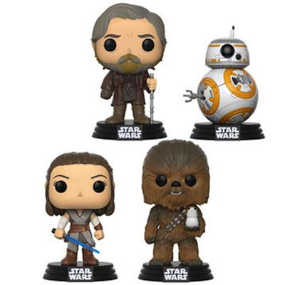 Funko Pop! Star Wars The Last Jedi (4-Pack)