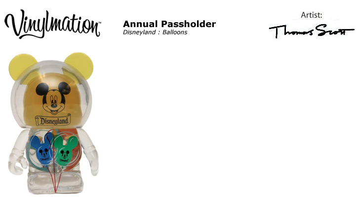 Vinylmation Open And Misc Exclusives Balloons 'yellow'