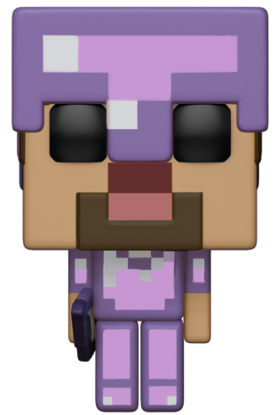 Funko Pop! Games Steve in Enchanted Armor