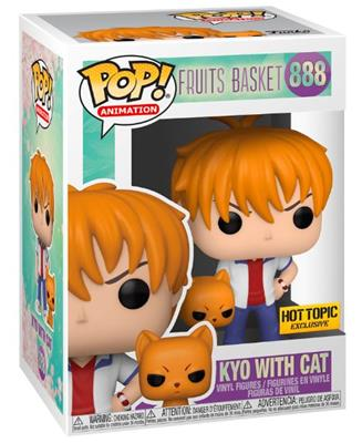 Funko Pop! Animation Kyo with Cat Stock