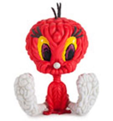 Kid Robot Art Figures Tweety (Red) Stock