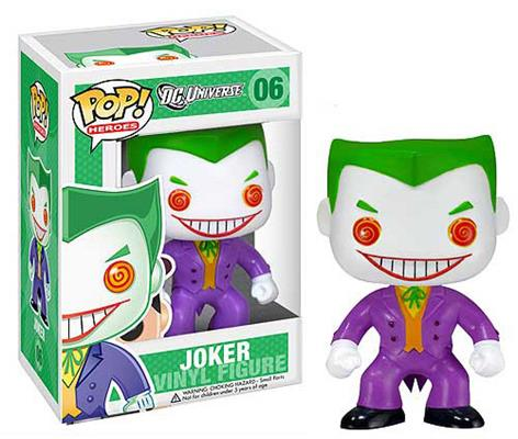 Funko Pop! Heroes The Joker Stock